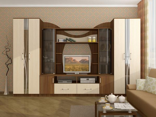 Гостиная «Гамма-15» ЛДСП