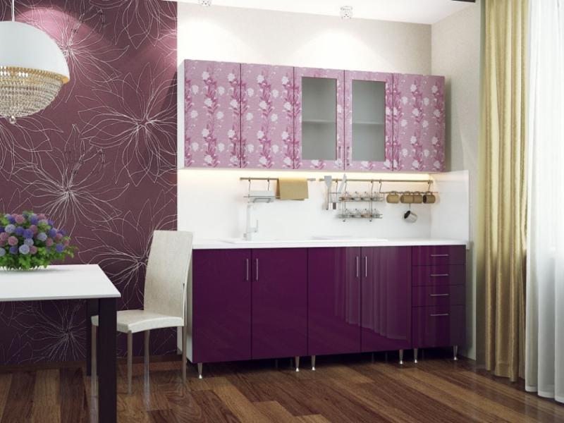 Кухонный гарнитур прямой Азалия