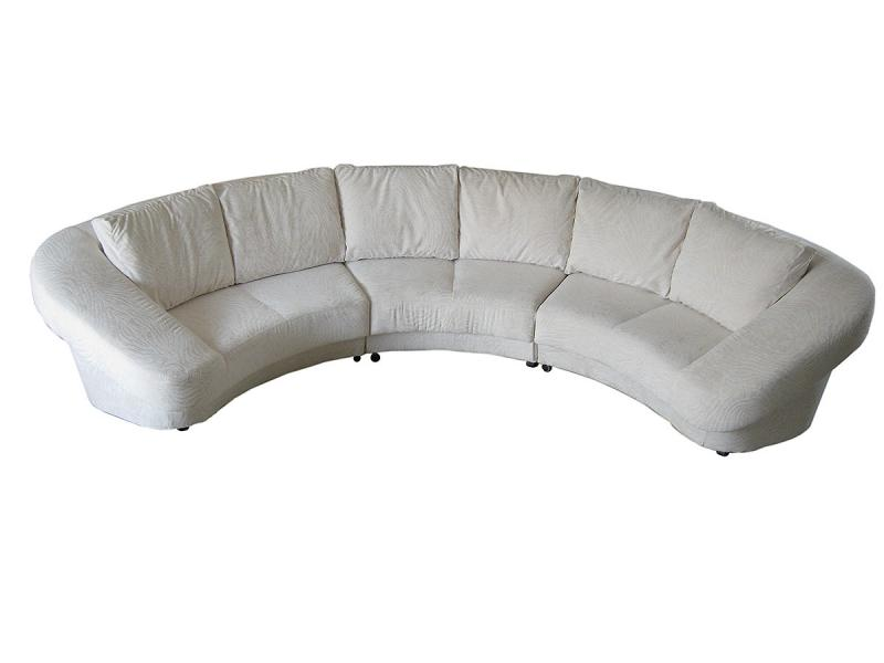 Полукруглый диван Аврора
