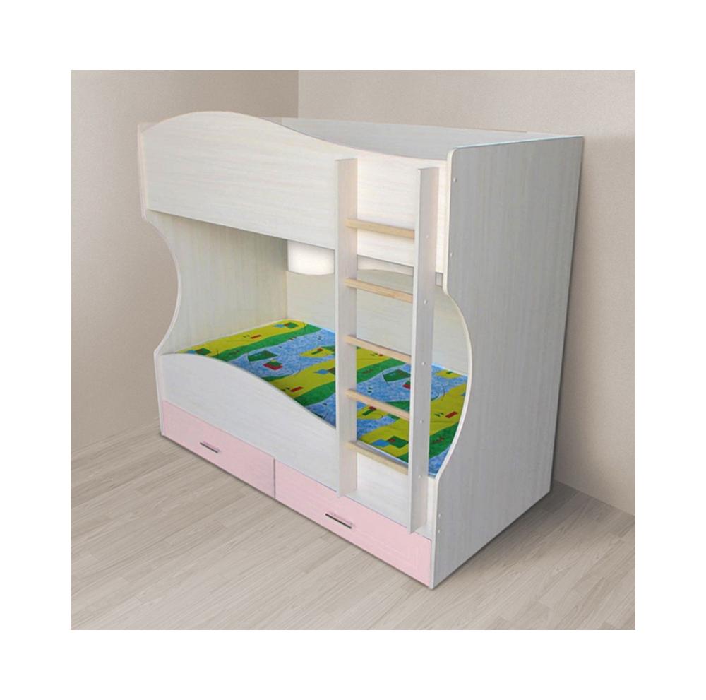 Кровать детская Радуга двухъярусная