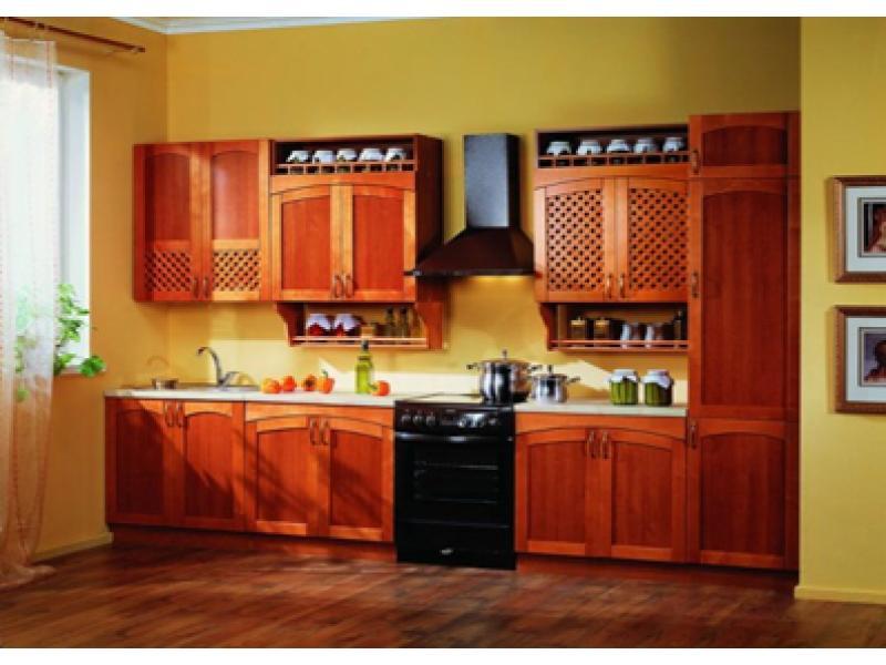 Кухня прямая Кантри 12