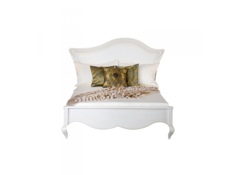 Кровать деревянное изголовье