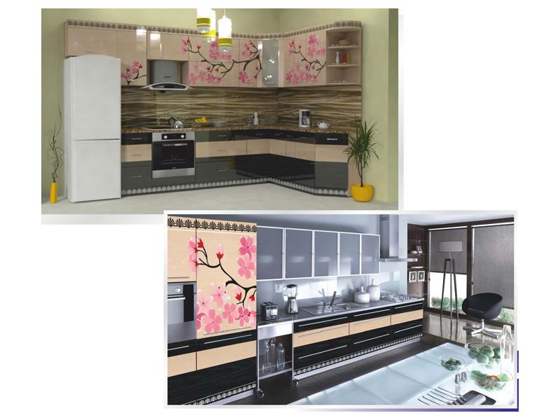 Кухня угловая Фотопечать 01