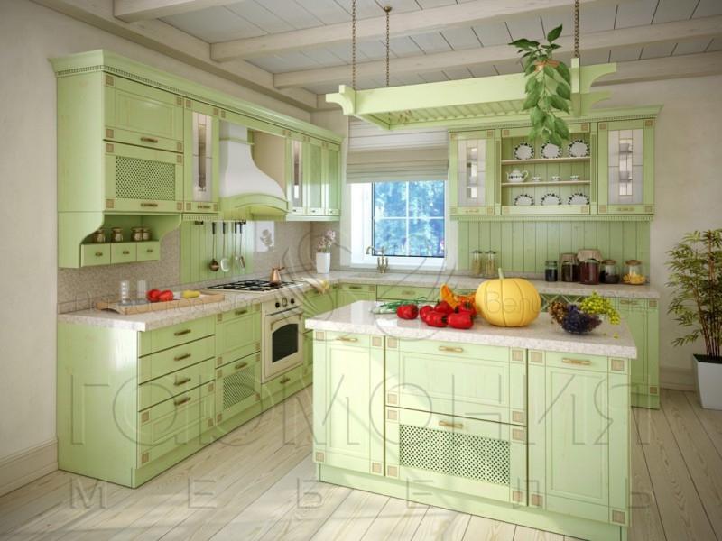 Кухня Вилладжо массив