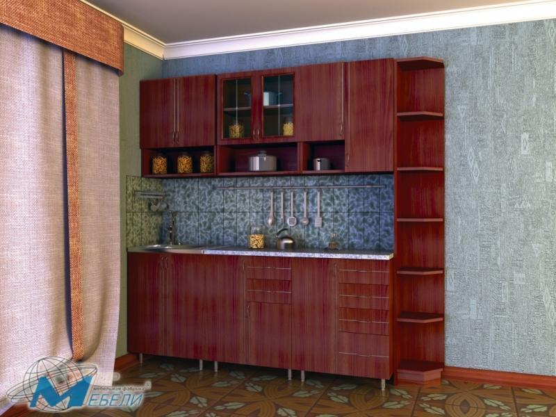 кухня прямая «Виктория 2»