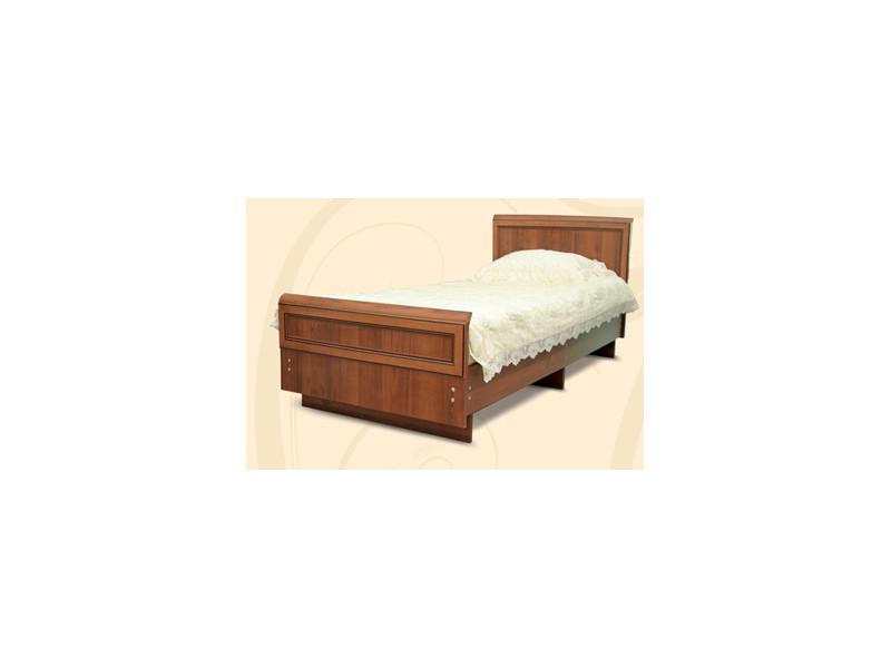 Кровать МДФ с декором