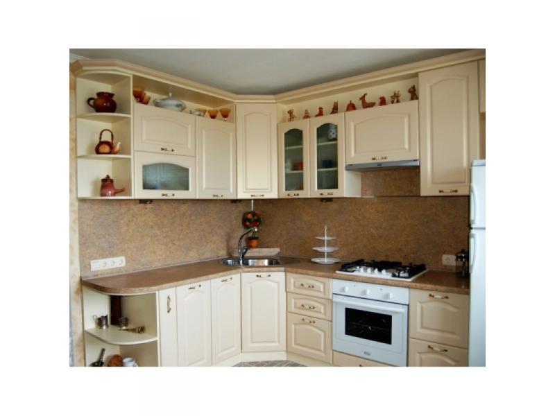 кухня классика угловая фото