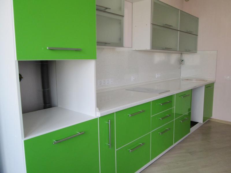 Кухонный гарнитур прямой Lucida 4