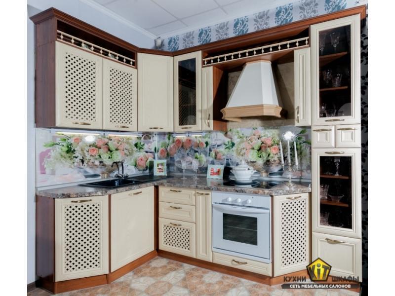 Кухня Николь Бьянка крем