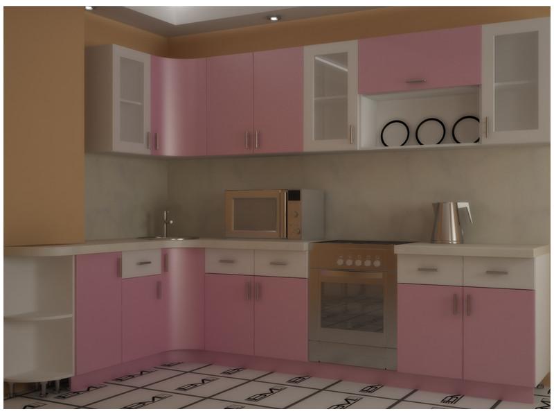 Кухня Угловая МДФ Эшли