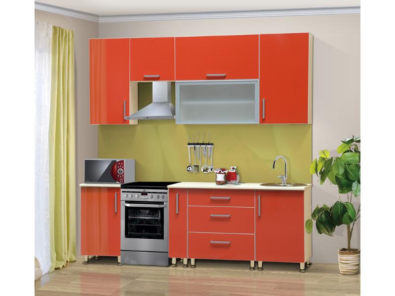 Кухонный гарнитур прямой Черри