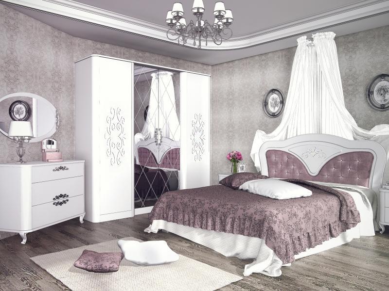 Белая спальня Бланж для девочки