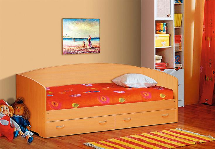 Кровать с ящиками Софа-1