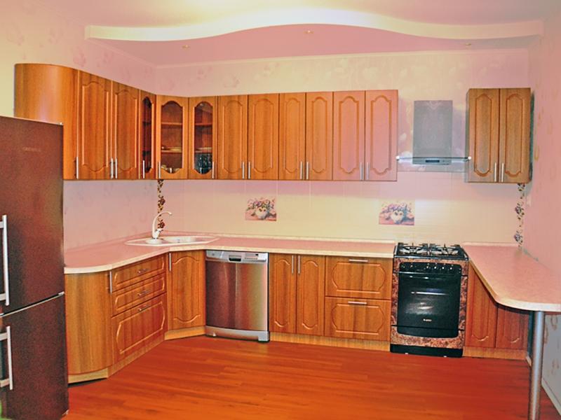 Кухонный гарнитур угловой Гестия