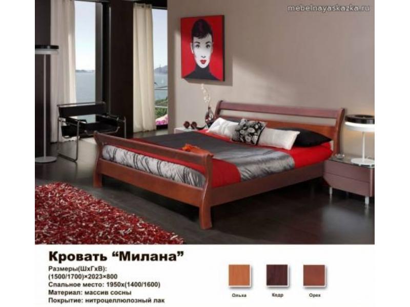 Кровать Милана МК