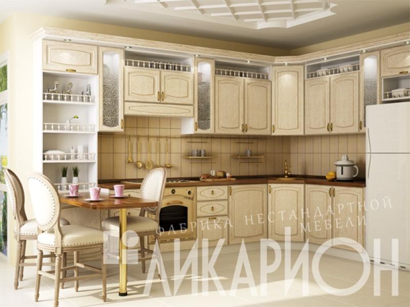 Кухня угловая «Жаклин Азалия»