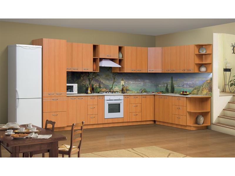 Кухонный гарнитур угловой Олимпия М