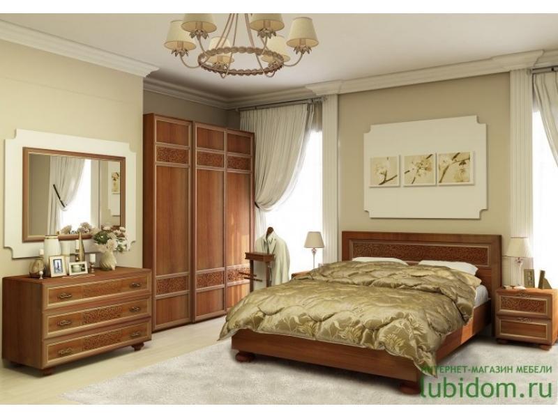 спальный гарнитур Александрия орех