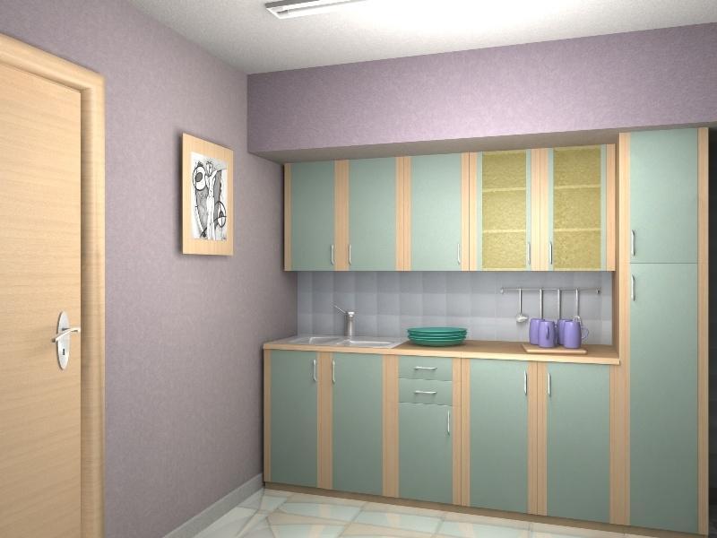 Кухонный гарнитур прямой