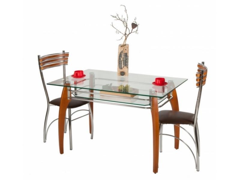 Стеклянный стол на кухню от производителя