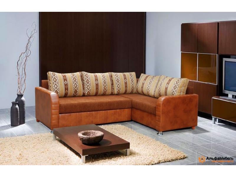 диван угловой Альфа 250 выкатной