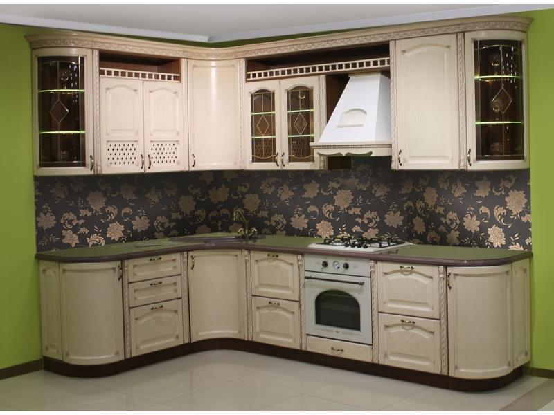 Кухонный гарнитур угловой Элеонора
