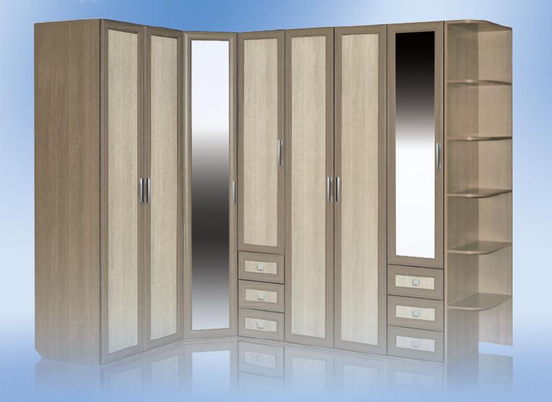 угловые модульные шкафы для спальни фото кино