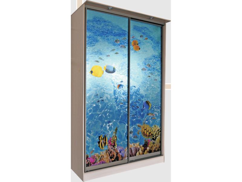 Шкаф купе 3D Красное море