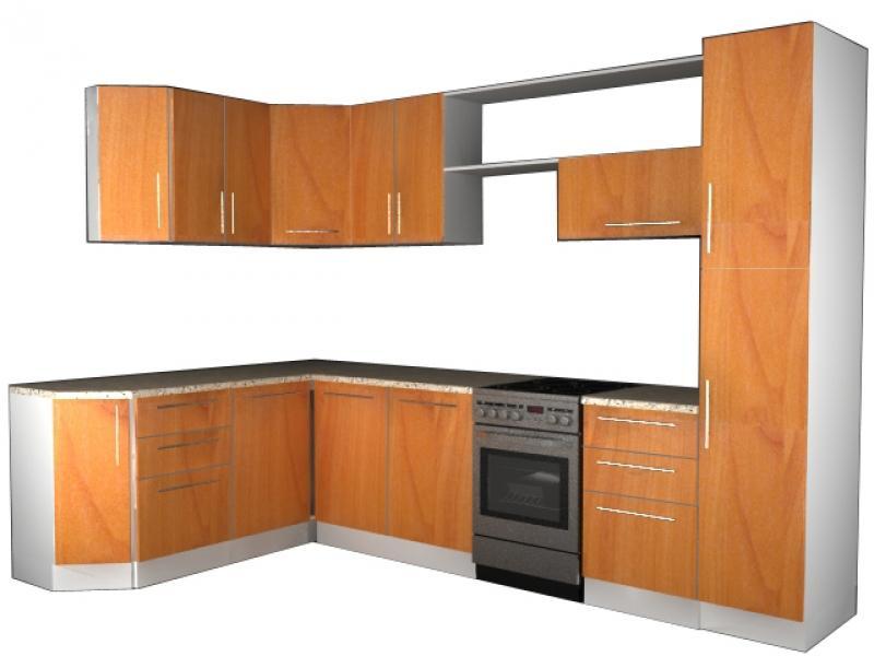 Кухонный гарнитур угловой Вера 5