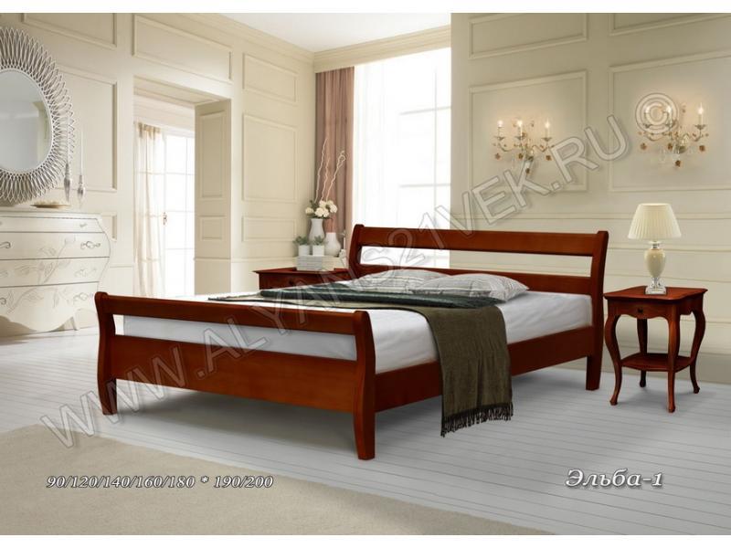 Кровать из дерева Эльба 1