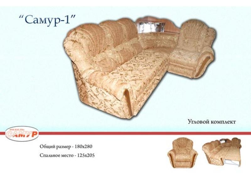 Угловой диван Самур