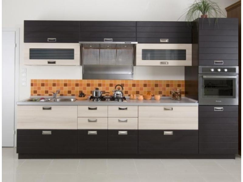 Кухонный гарнитур прямой Феррара