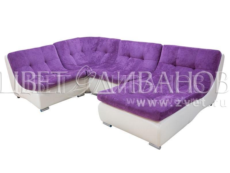 Угловой диван Монреаль французская