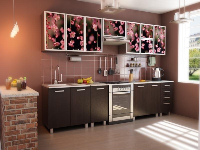 Кухонный гарнитур прямой 49
