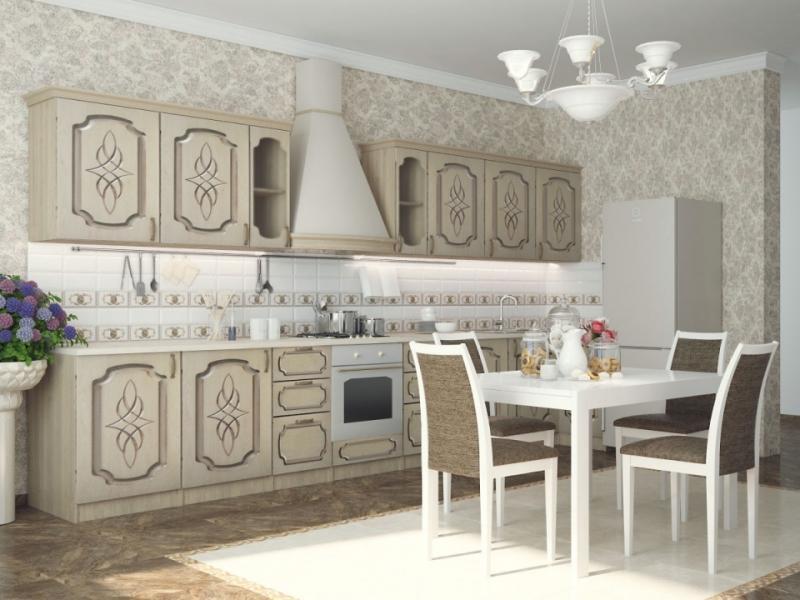 Кухонный гарнитур прямой Колибри