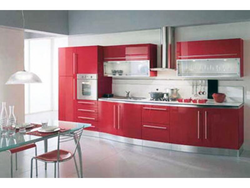 Кухонный гарнитур прямой 87