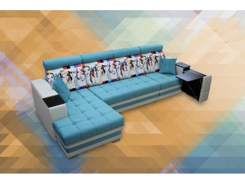 Угловой диван Марта 2  (ОТ,ДЧ,КР)