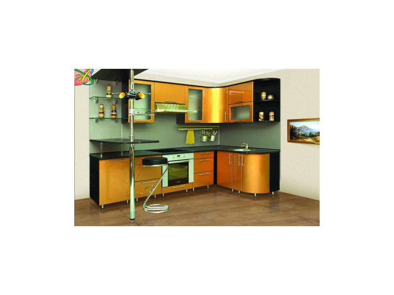 Кухонный гарнитур угловой Стинг