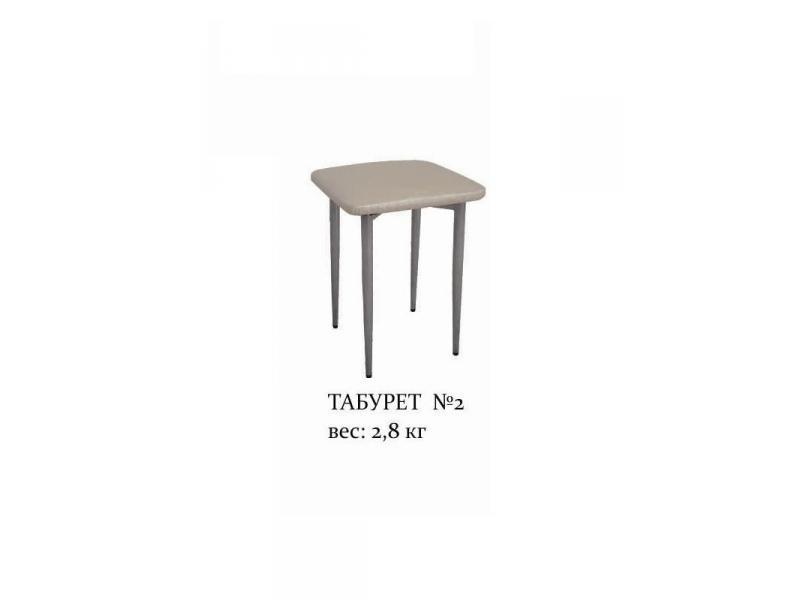 Табурет с окрашенным металлокаркасом  2