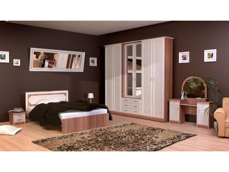 Спальня Суоми-1 с рамочным фасадом МДФ