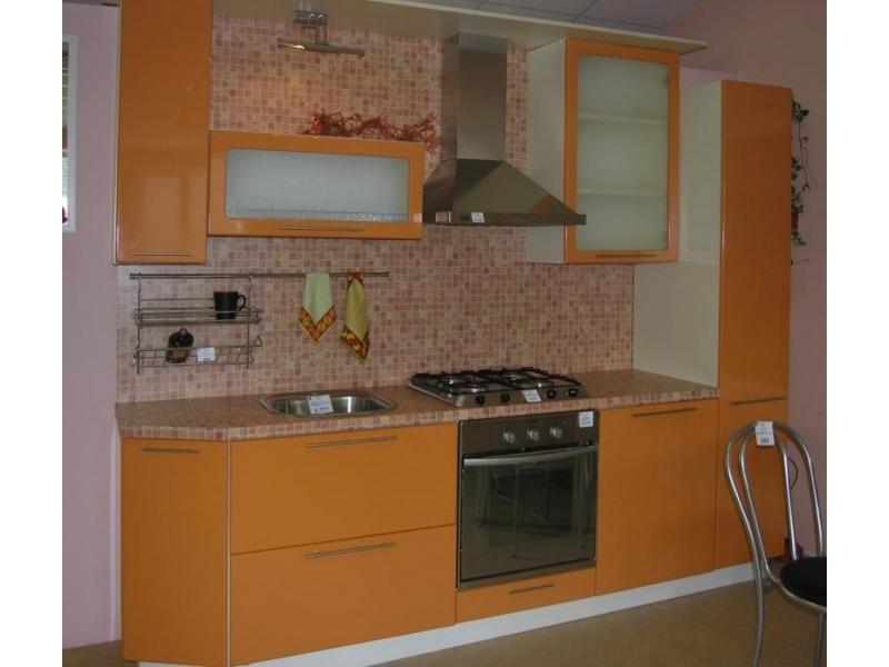 Кухонный гарнитур прямой41