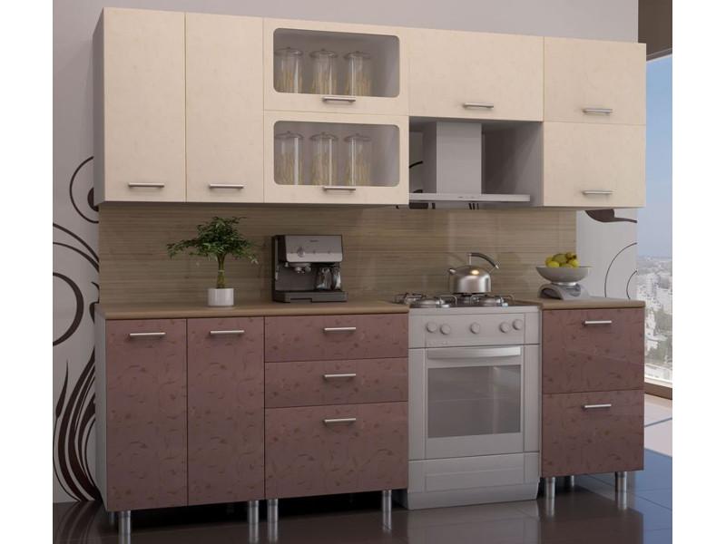 Кухонный гарнитур прямой Лаванда