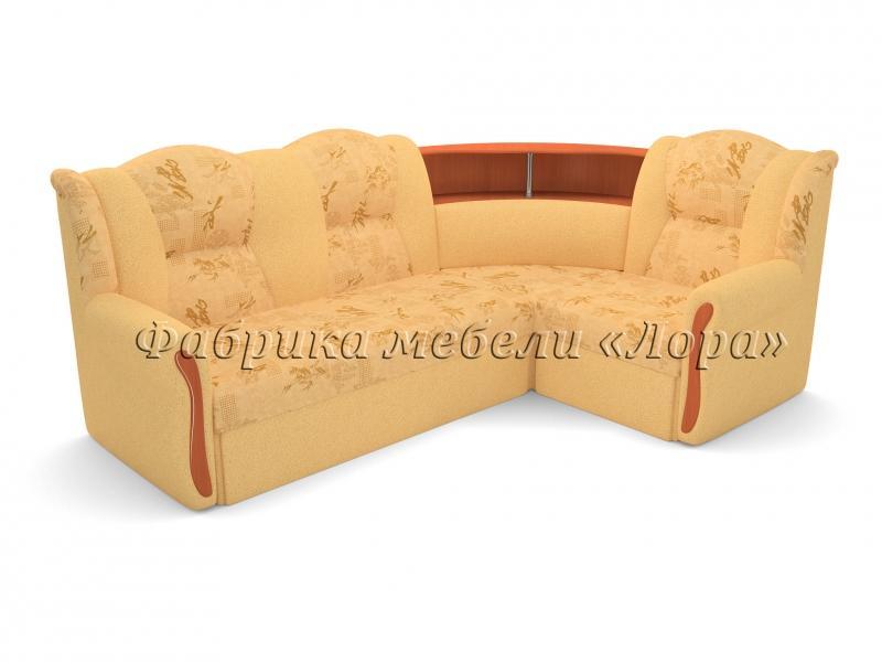 Угловой диван Надежда с круглым баром