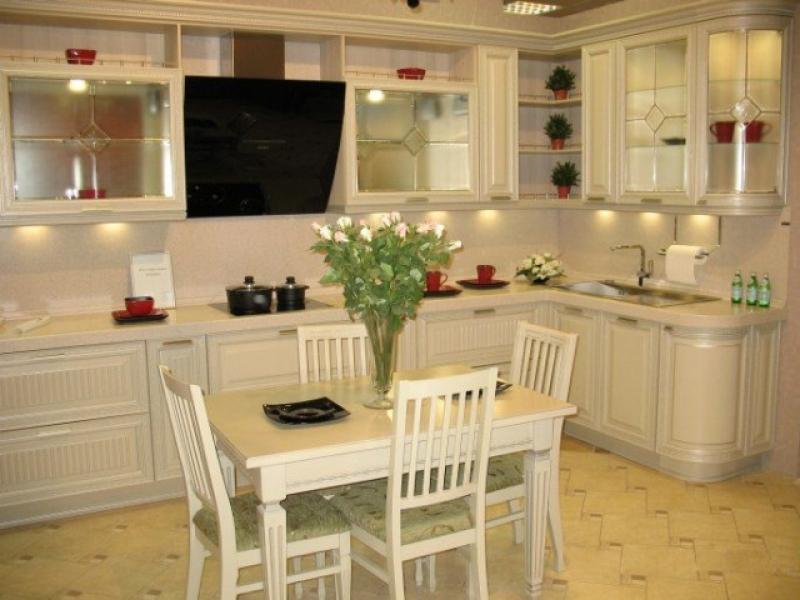 Кухонный гарнитур угловой Доломита