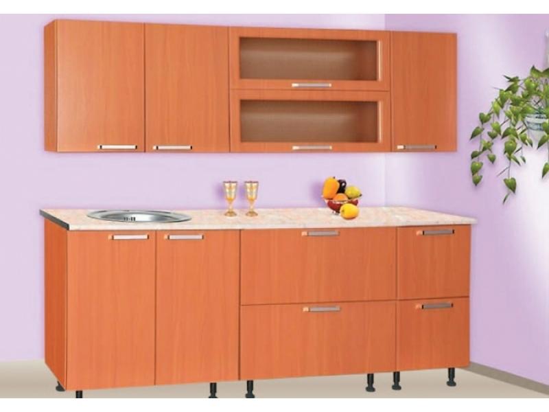 Кухонный гарнитур прямой Ева-17