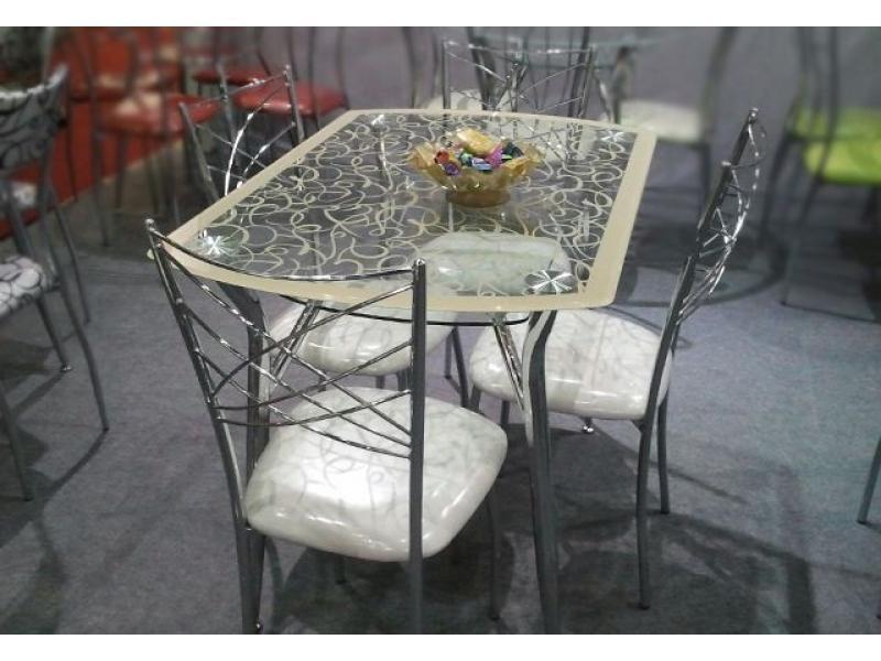 Стол обеденный А605F-B