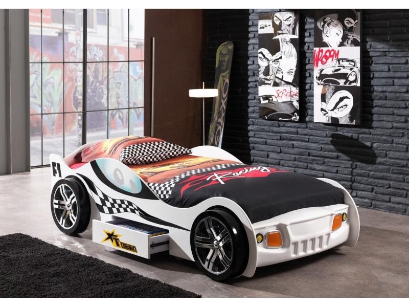 Детская кровать «Гоночная машинка»