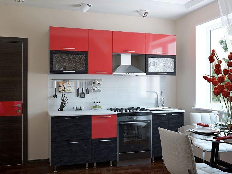 Кухонный гарнитур прямой Уют