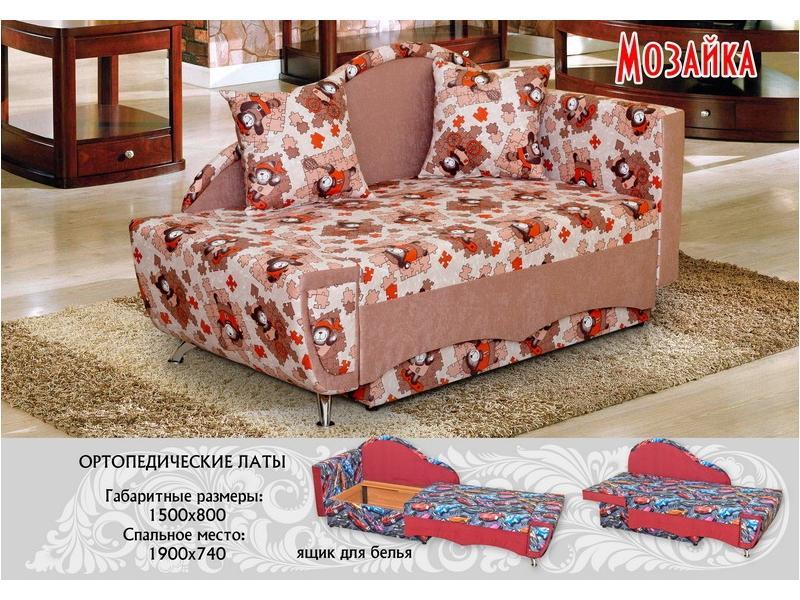 диван прямой Мозайка