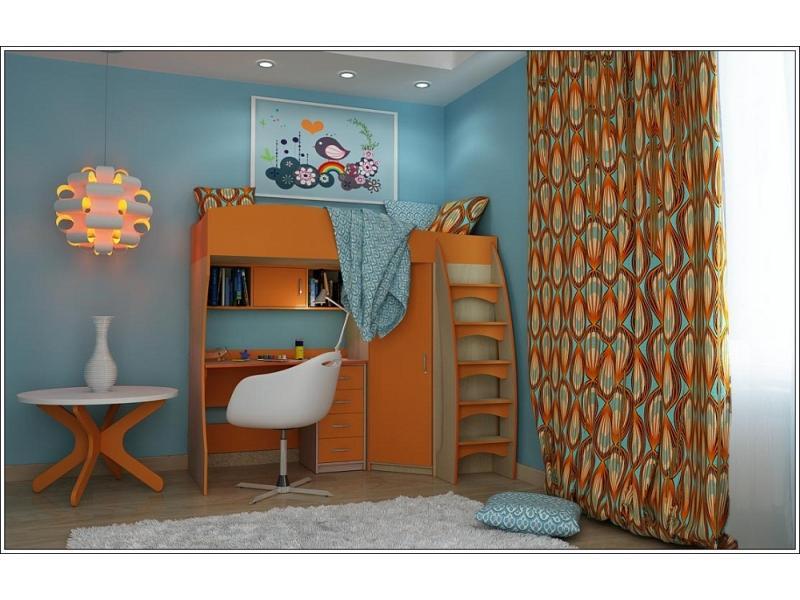 Двухъярусная кровать Колибри